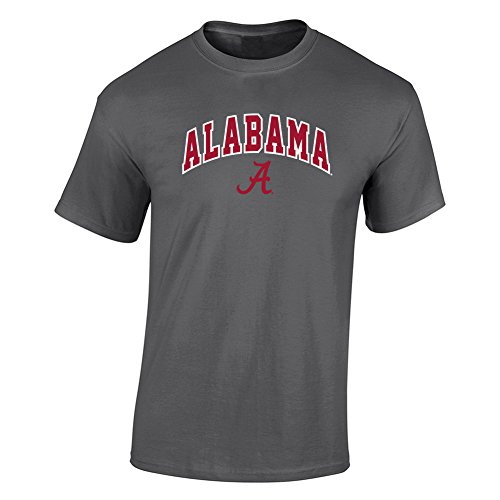 Elite Fan Shop Alabama Crimson Tide TShirt Dark Heather Gray - XL - Charcoal (Tide Alabama University Crimson)