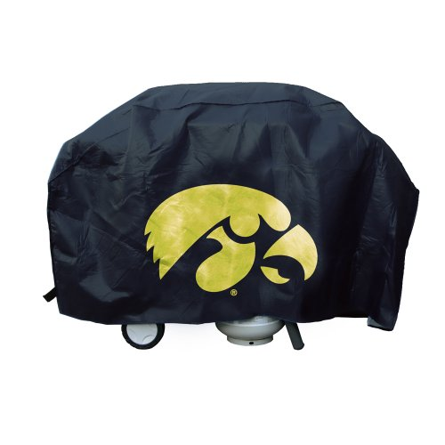 Rico Industries NCAA Iowa Hawkeyes Vinyl Padded Deluxe Grill Cover
