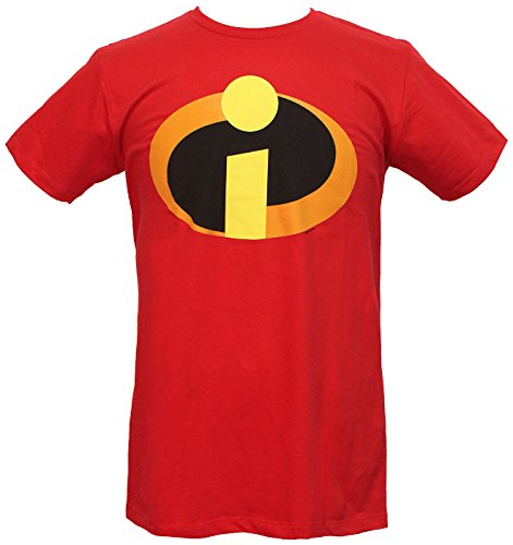 The Incredibles T-shirt Basic icon Logo (XXL/Red) -