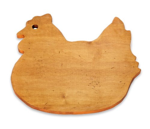Jk Adams Novelty Board (J.K. Adams 12-1/2-Inch-by-11-1/2-Inch Solid Maple Wood Cutting Board, Hen-Shaped)