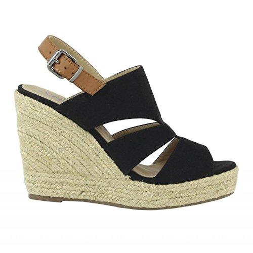 Chaussures compensées pour Femme REFRESH 61784 ANT NEGRO
