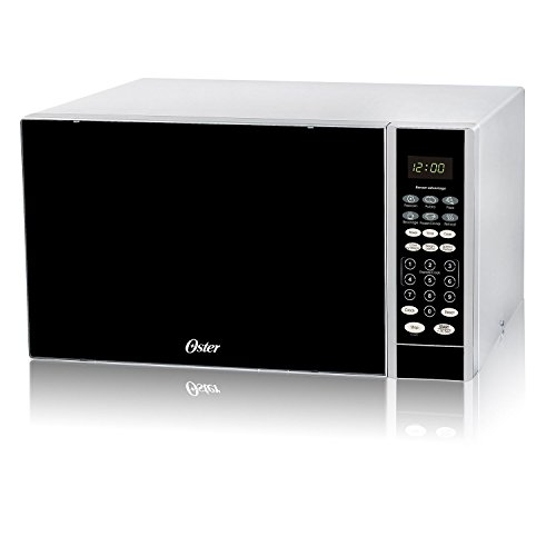Oster 1.1 cu. ft. 1000W Digital Microwave Oven with Sensor, White