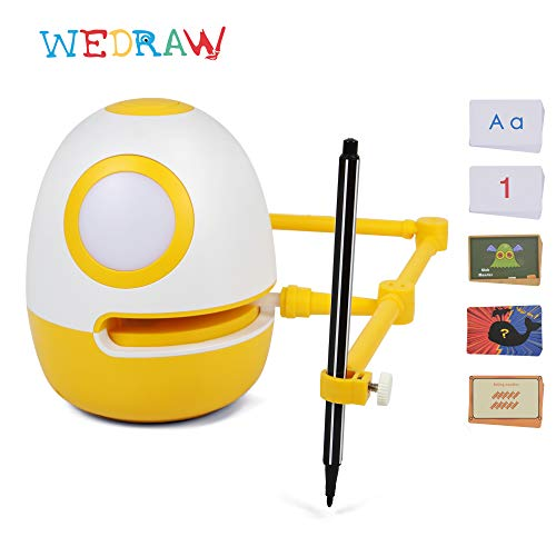 Early Development Toys , WEDRAW Eggy Educational Toys for kits , Genius Kit fit for 3+ year old children, Learn Drawing , Counting ,Math Numbers , English Letters and Spelling words(Amazon Exclusive)