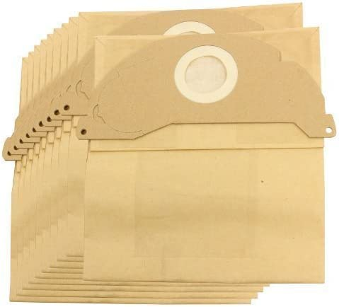 First4spares-Bolsa para aspirador y filtro para aspirador Karcher MV2 (filtro, paquete de 5, 10, 10 paquetes Bastón refrescante) opcional 10 sacs: Amazon.es: Hogar