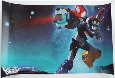 New Voltron Legendary Defender 2 Sided Poster Lion Forge Dream Works