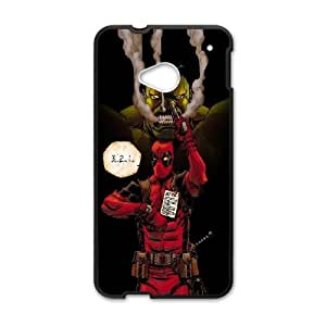 Hulk And Deadpool Htc One M7 Cell Phone Case Black DAVID-250493