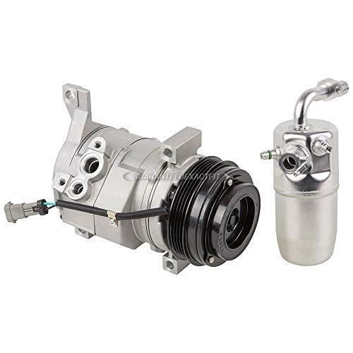 AC Compressor w/A/C Drier For Chevy Suburban GMC Yukon Cadillac Escalade - BuyAutoParts 60-86348R2 New