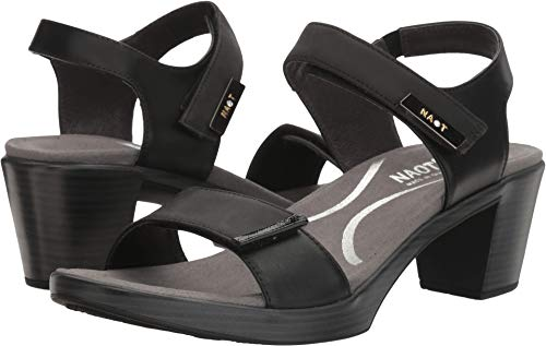 NAOT Women's Intact Anatomic Sandals, Black, Leather, Suede, Cork, Latex, 41 M EU, 10-10.5 M