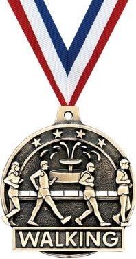 クラウンAwardsゴールドWalking Medals – 2