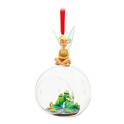 Disney Tinker Bell Glass Globe Ornament