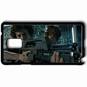taoyix diy Personalized Samsung Note 4 Cell phone Case/Cover Skin Aliens Black