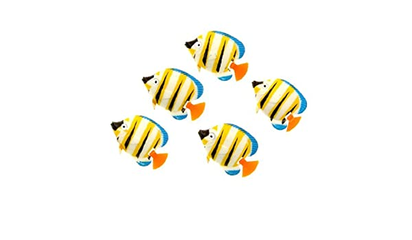 Amazon.com : eDealMax Acuario Peces de plástico ornamento, Mini, colorido : Pet Supplies