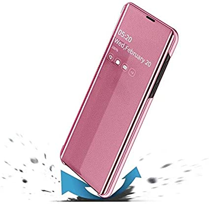 Rose gold XJZ Compatible with Samsung Galaxy Note 10Plus Smartphone Case +3D Tempered Glass Film Screen Protectors//Cover Ultra Thin Transparent Flip Phone Case for Samsung Galaxy Note 10Plus-2020