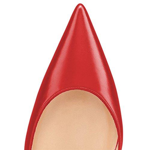 Metà Tacchi Pompa Punta Stampa Rosso Mimetica Punta 15 A Moda Per Con Noi Formato Donne D'orsay Fsj Alti Di Le 4 qvC5Exw
