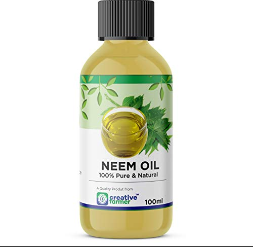 Organic Concentrated Cold Pressed,Pure Neem Oil for Spray On Plants & Garden 100 Ml