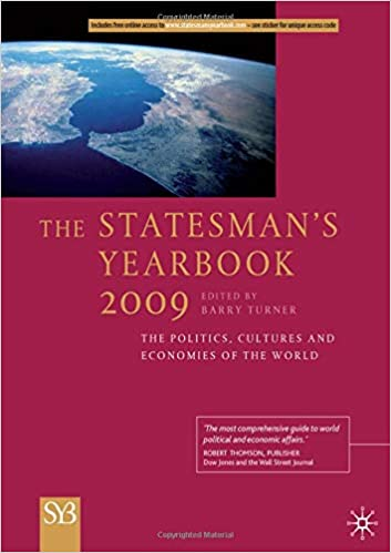 The Statesman's Yearbook 2009:...