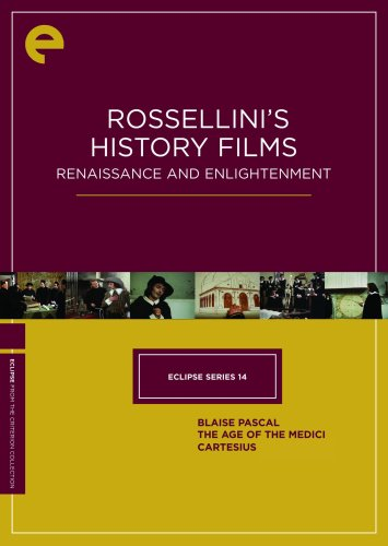 ossellini's History Films - Renaissance and Enlightenment (Blaise Pascal / The Age of the Medici / Cartesius) (The Criterion Collection) ()