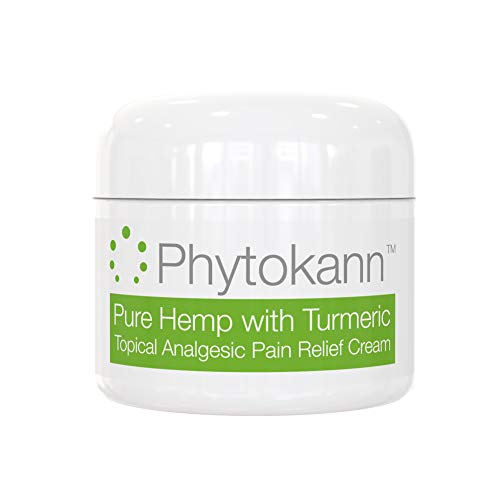 Pure Hemp with Turmeric Topical Pain Relief Cream for Arthritis