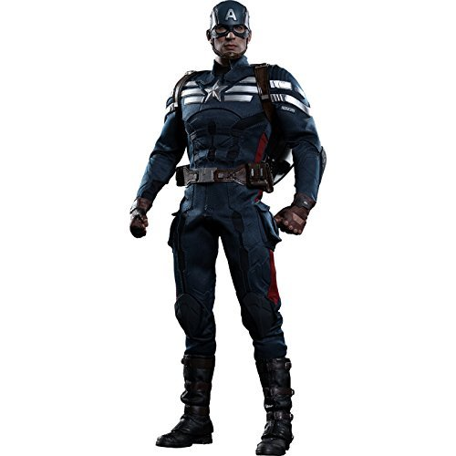 Movie Masterpiece Captain America / Winter Soldier Captain America (stealth suit version) 1/6 scale plastic-painted action figure