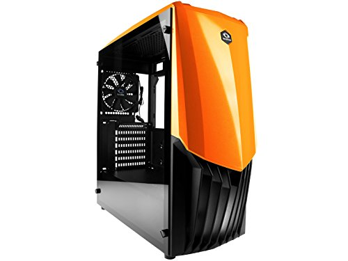 Raidmax GAMA PC Gaming Case (Orange) by Raidmax