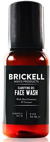 Facial Cleanser: Brickell Men's Clarifying Gel Face Wash