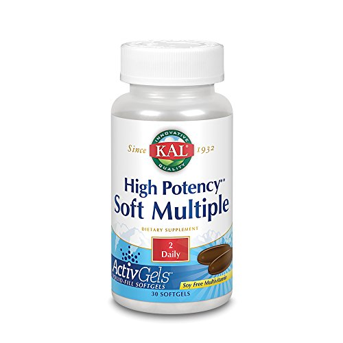 Cheap KAL High Potency Soft Multiple Softgels, 30 Count