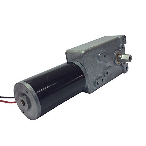 BEMONOC Electric DC Motor 12V Gear Motor Reversible Low Speed 3 RPM High Torque Out Shaft 8mm (Dc Rpm Motor Low)