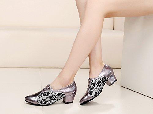 Minitoo - salón mujer Grey-4cm Heel