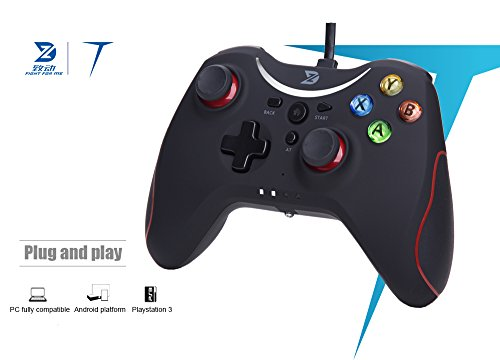 41mu4KnzePL - ZD T Gaming wired Gamepad Controller Joystick For PC(Windows XP/7/8/8.1/10) / PlayStation 3 / Android / Steam - Not support the Xbox 360/One
