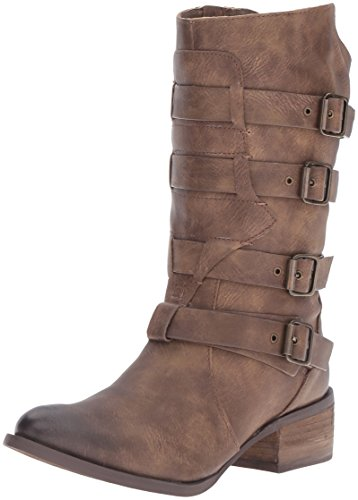 Brown on Bootie Ankle Rated Women's Fleek Not O4EwqYT