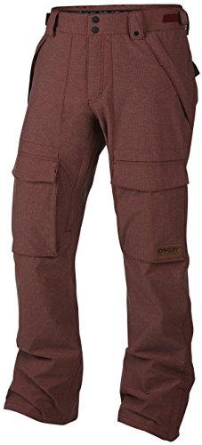 Oakley Mens Hawkeye Biozone Shell Snowmobile Pants, Jet Black