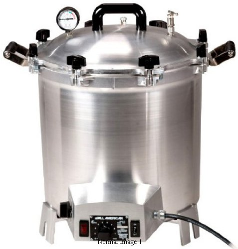 All-American Electric 14.5 Quart 1650 Watts/6.88 amps Sterilizer