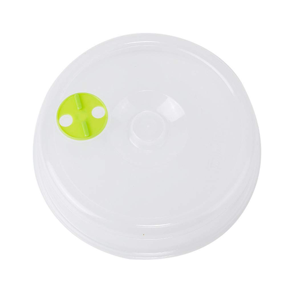 Microwave Plate Cover Pulison Newest Upgrades Hover Magnetic Function Safe Convenient With Steam Vent Prevent Splatter Cover PP material Splatter Lid Food Dish New