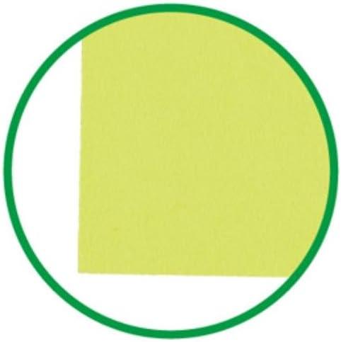 再生色画用紙A4 10枚きみどり 141-006