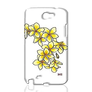 Yellow Gardenia 3D Rough Skin, fashion image custom, hard 3D , New For Ipod Touch 4 Case Cover By Codystore