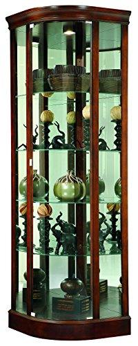 Howard Miller Marlowe Curio/Display (Wine Curio Cabinet)