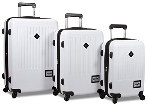 Trendy 3 pcs Luggage Travel Set Spinner Travel Suitcase Set Travel luggage organizer bag Travel luggage set Spinner suitcase set RL 690 (White) by Dejuno