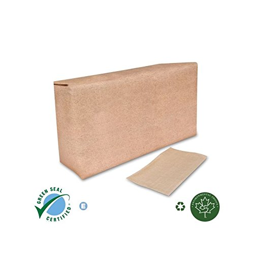 SCA Tork Tall Fold Napkin 1-Ply, Natural, 6'' x 13.5'' 625 Per Pack, 10000 Napkins Per Case
