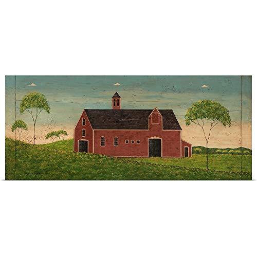 GREATBIGCANVAS Poster Print Entitled Barn by Warren Kimble 60