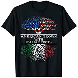 American Grown With Italian Roots T-Shirt Tshirt