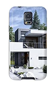 Oscar M. Gilbert's Shop Excellent Galaxy S5 Case Tpu Cover Back Skin Protector Modern Houses