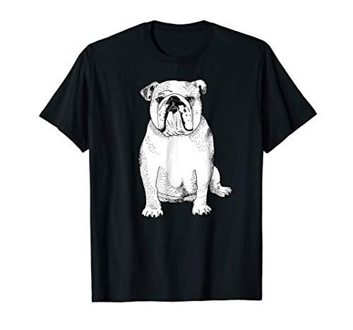 Cute English Bulldog Shirt Gifts for Dog Lover and ()