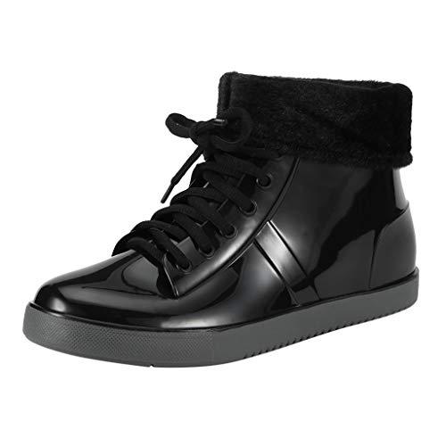 ⭐LONGDAY⭐ Womens Rain Boots Short Rubber Boot Waterproof Work Garden Shoes Anti-Slip Outdoor Ankle Wellies from ⭐LONGDAY⭐