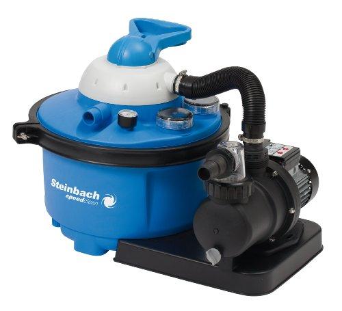 Steinbach Sandfilteranlage Speed Clean Comfort 50, Blau, 6.600 l/h