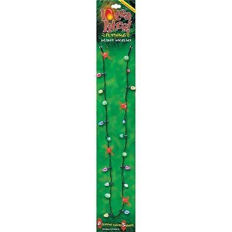Christmas Holiday Flashing Necklace individually product image