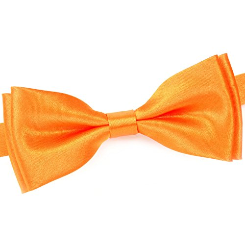 Noeud papillon uni Orange
