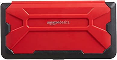 AmazonBasics Vault Case for Nintendo Switch, Red