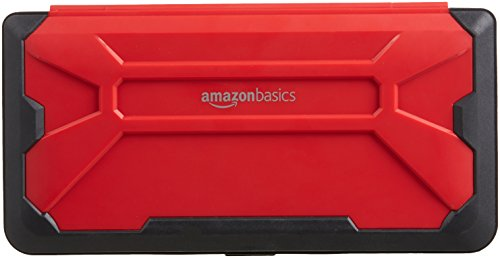 Amazonbasics Vault Case For Nintendo Switch  Red
