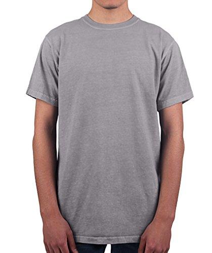 (Have It Tall Men's T Shirt Premium Ringspun Cotton Made in USA ST - 6XLT Gray Medium Tall)