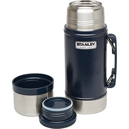 Stanley Classic Vacuum Food Jar 24oz Hammertone Navy